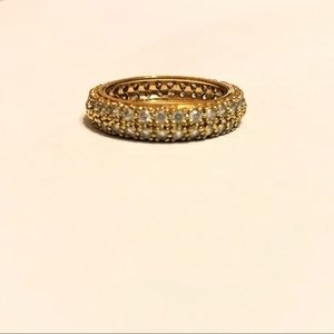 Jewelry - Double Layered Vitorre Crystal Ring